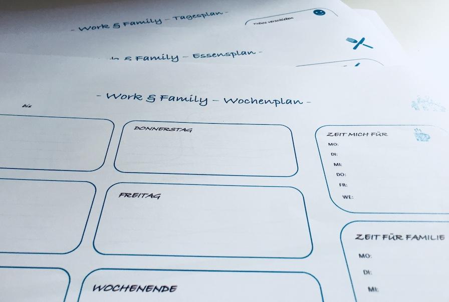 Organisationshilfen für Familie und Beruf